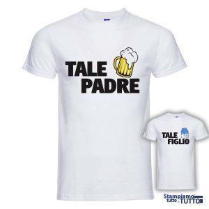 """T-SHIRT COPPIA """"Tale Padre-Tale Figlio"""""""