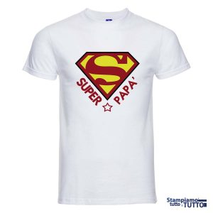 "T-SHIRT ""Super Papà'"""