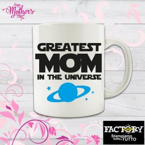 "Tazza ""Greatest mom in the universe"""