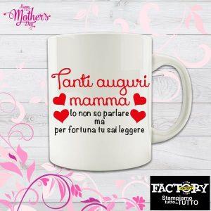 "Tazza ""Tanti auguri mamma"""