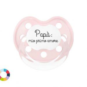 """Ciuccio Personalizzato """"Papà Mio Primo Amore"""""""