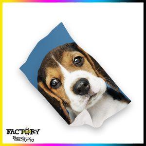 Plaid singolo 100×150 personalizzato con foto
