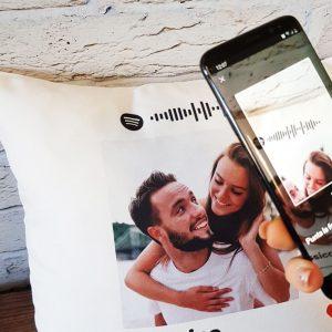 Cuscino Spotify Personalizzabile