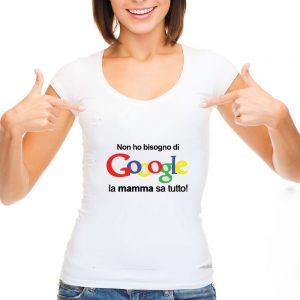 """T-shirt """"La mamma sa tutto"""""""