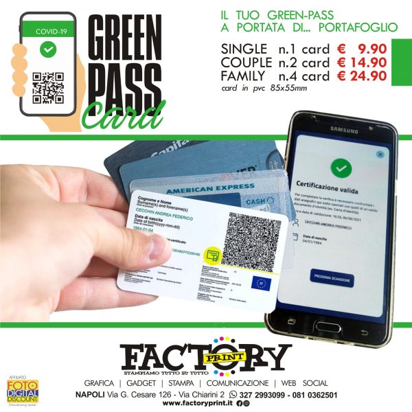 card green pass